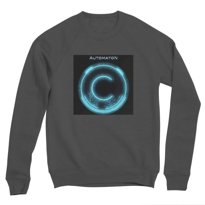 AutomatoN power button Women's Sponge Fleece Sweatshirt by automatonofficial's Artist Shop