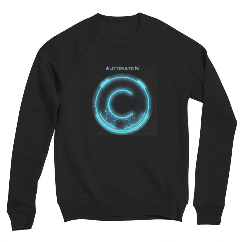 AutomatoN power button Men's Sponge Fleece Sweatshirt by automatonofficial's Artist Shop