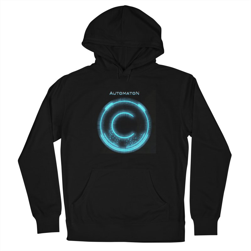 AutomatoN power button Women's Pullover Hoody by automatonofficial's Artist Shop