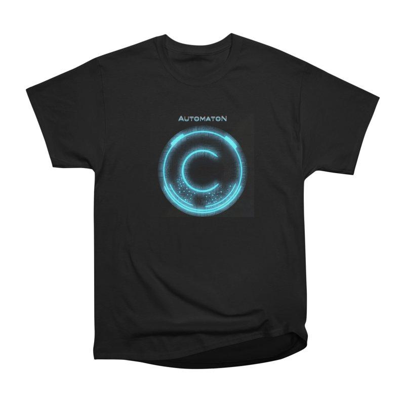 AutomatoN power button Men's Heavyweight T-Shirt by automatonofficial's Artist Shop