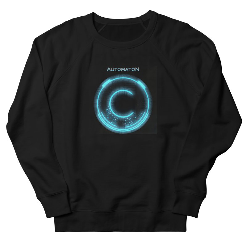 AutomatoN power button Women's French Terry Sweatshirt by automatonofficial's Artist Shop