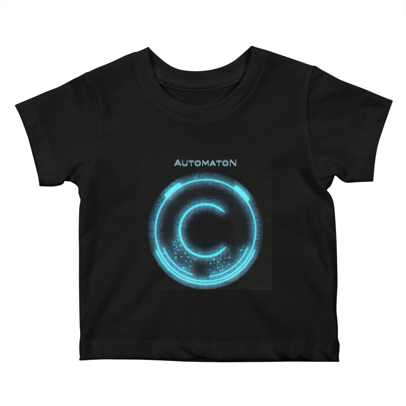 AutomatoN power button Kids Baby T-Shirt by automatonofficial's Artist Shop