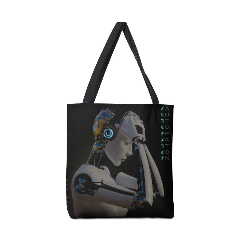 Ego Verus album cover Accessories Bag by automatonofficial's Artist Shop