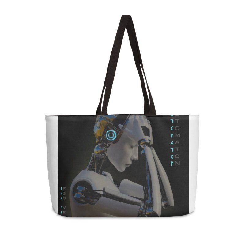 Ego Verus album cover Accessories Weekender Bag Bag by automatonofficial's Artist Shop