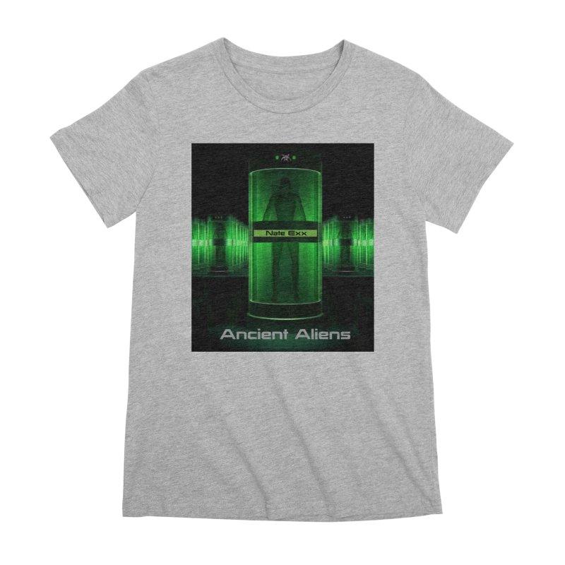 Ancient Aliens Women's Premium T-Shirt by automatonofficial's Artist Shop