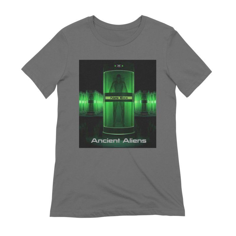 Ancient Aliens Women's Extra Soft T-Shirt by automatonofficial's Artist Shop