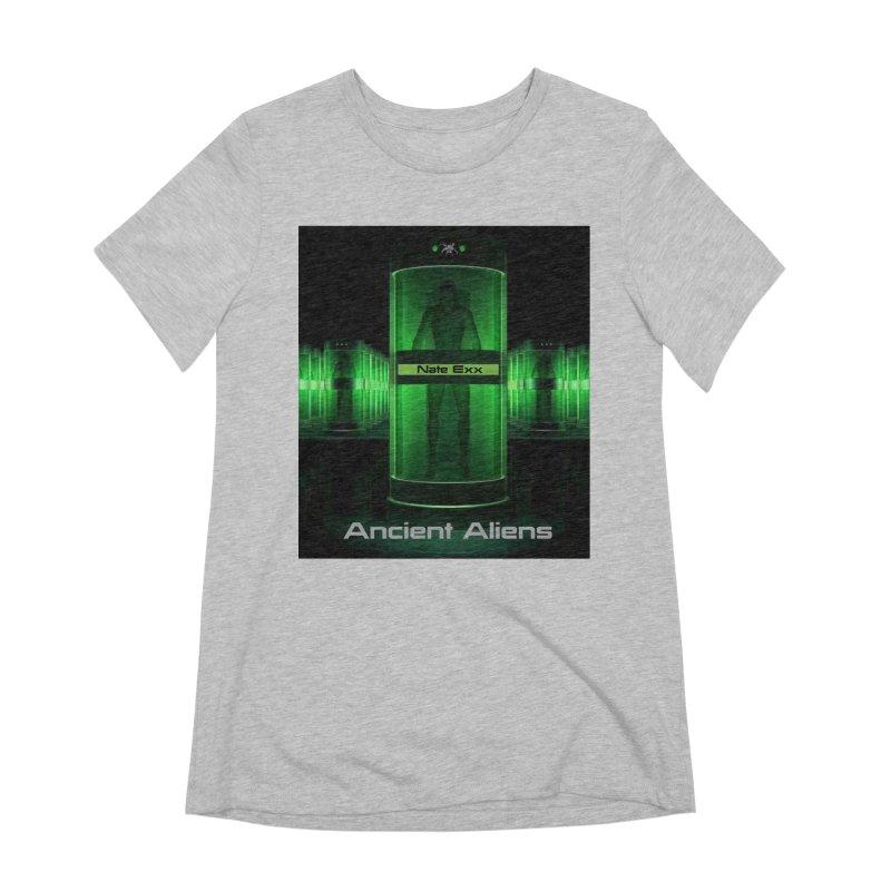 Ancient Aliens Women's Extra Soft T-Shirt by automatonofficial's Artist Shop