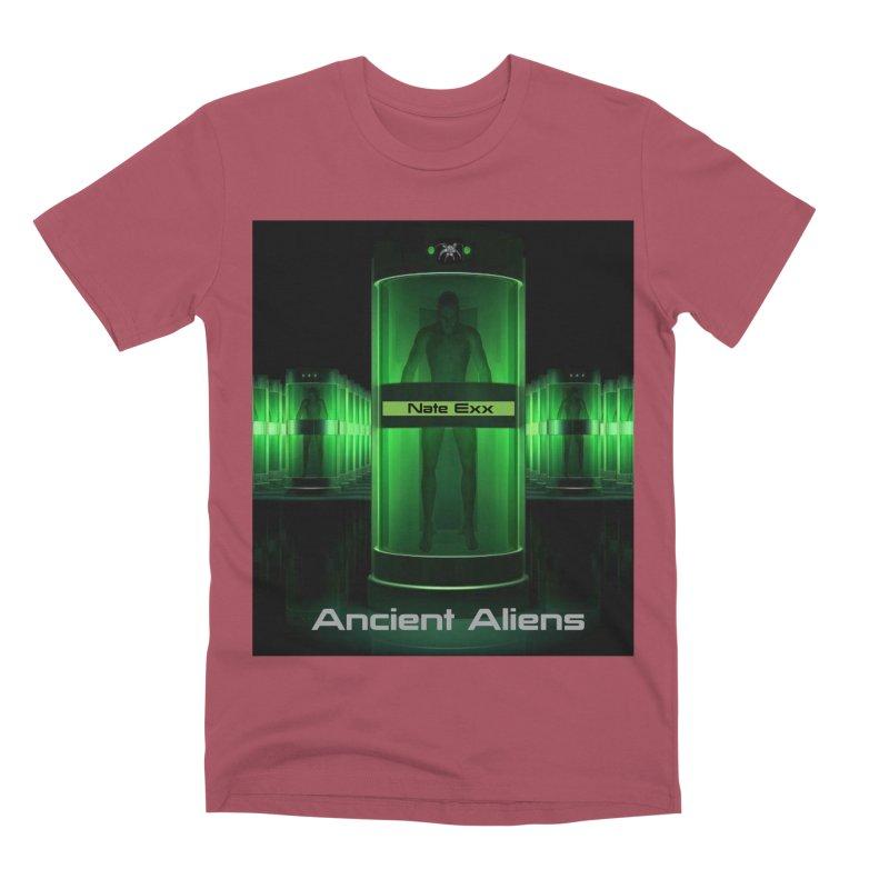 Ancient Aliens Men's Premium T-Shirt by automatonofficial's Artist Shop