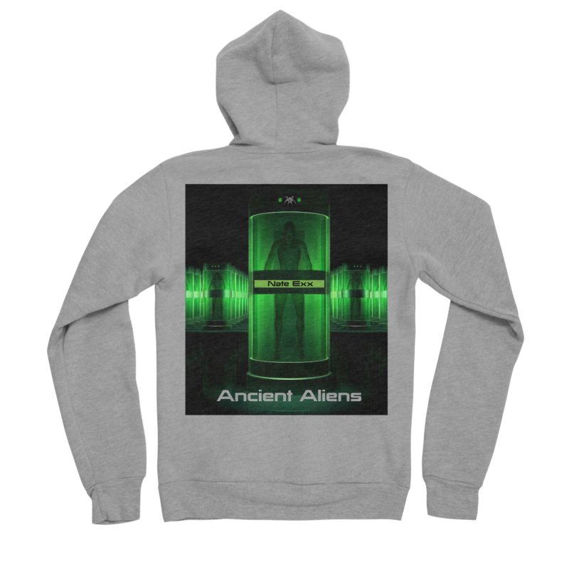 Ancient Aliens Women's Sponge Fleece Zip-Up Hoody by automatonofficial's Artist Shop