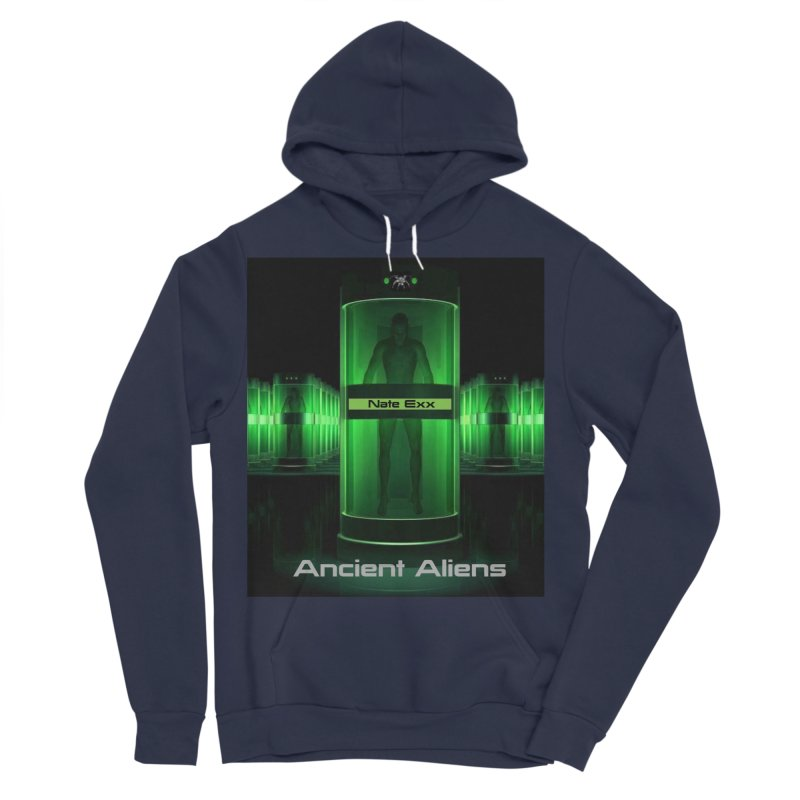 Ancient Aliens Men's Sponge Fleece Pullover Hoody by automatonofficial's Artist Shop