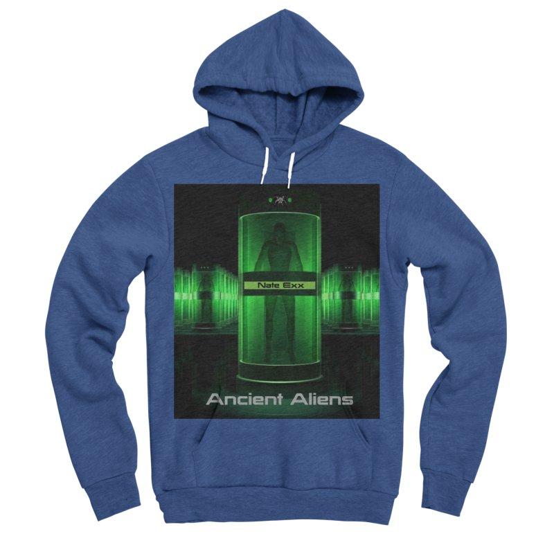 Ancient Aliens Men's Sponge Fleece Pullover Hoody by automatonofficial's Artist Shop