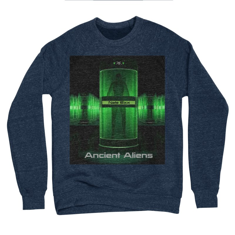 Ancient Aliens Men's Sponge Fleece Sweatshirt by automatonofficial's Artist Shop