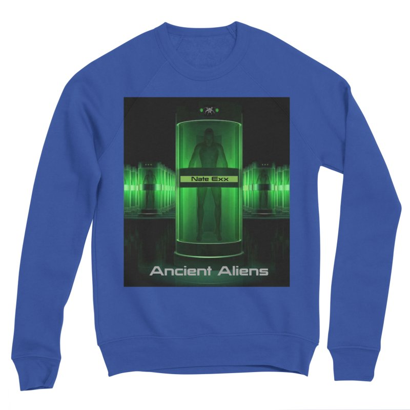 Ancient Aliens Men's Sponge Fleece Sweatshirt by automatonofficial's Artist Shop