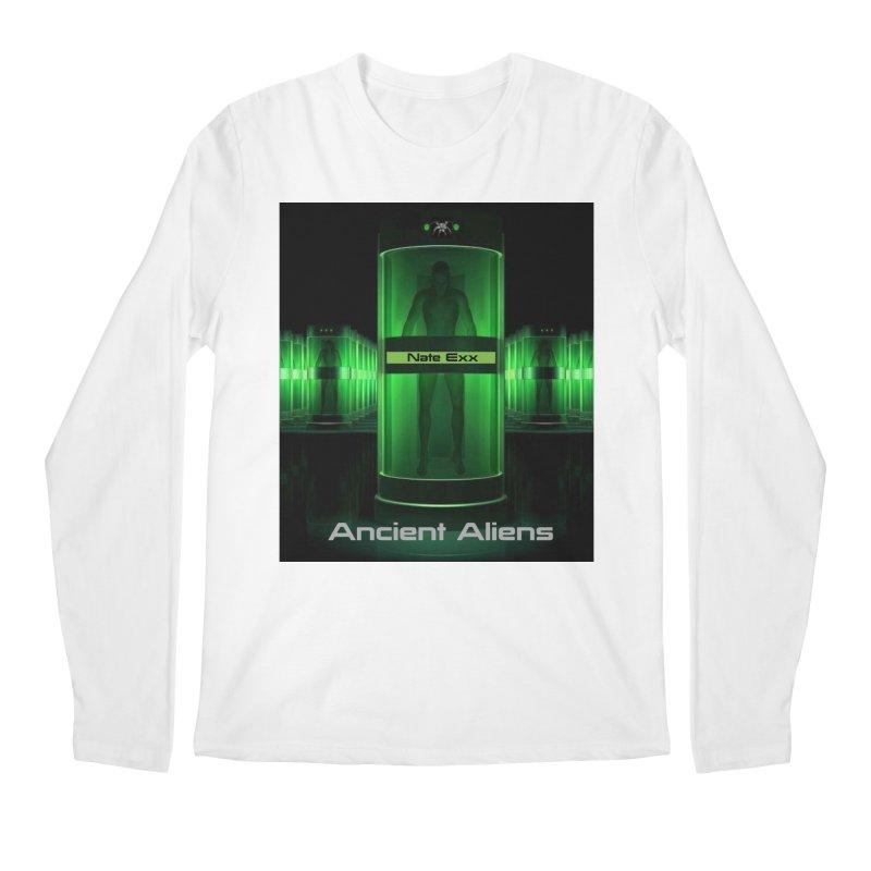 Ancient Aliens Men's Regular Longsleeve T-Shirt by automatonofficial's Artist Shop