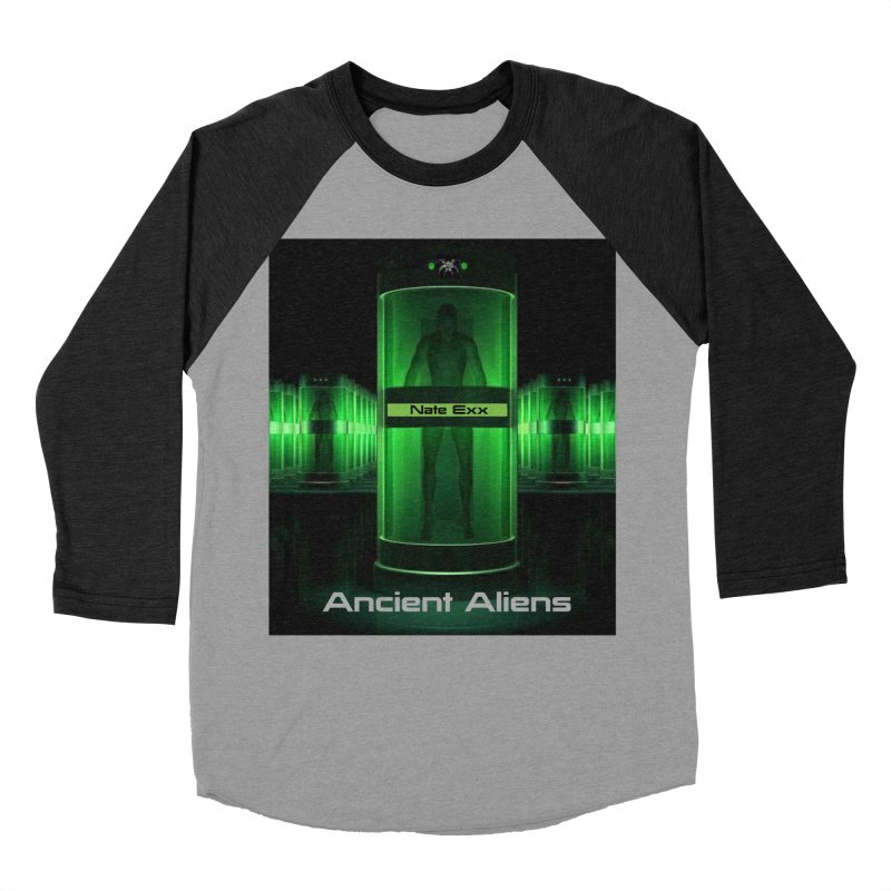 Ancient Aliens Men's Baseball Triblend Longsleeve T-Shirt by automatonofficial's Artist Shop