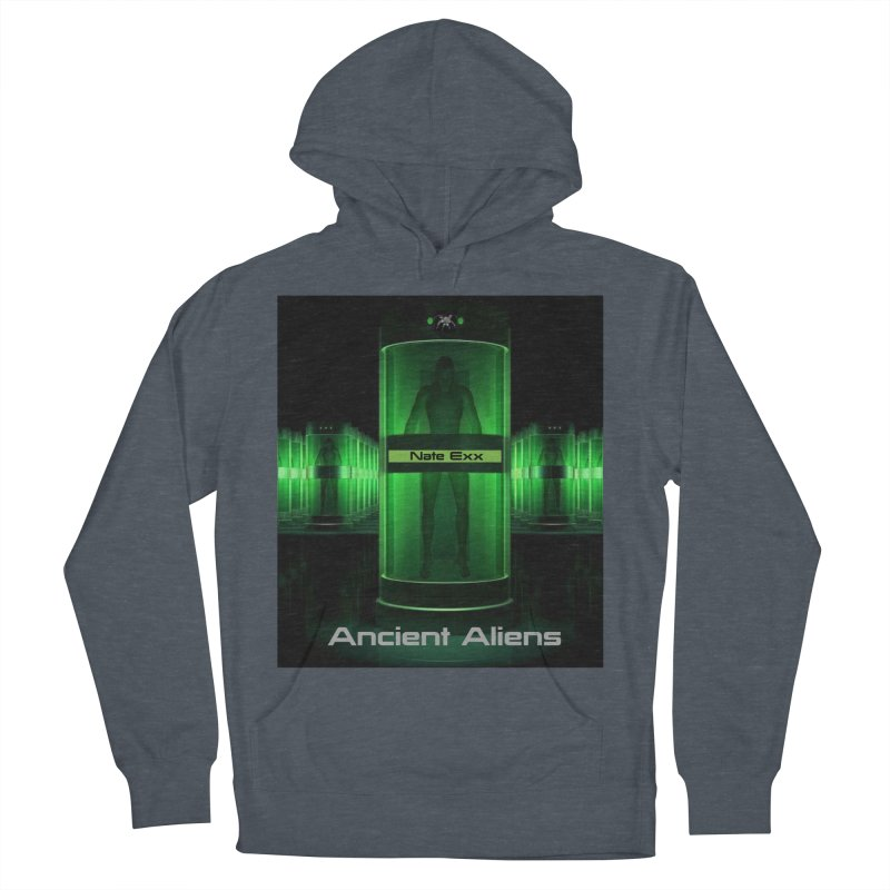 Ancient Aliens Men's French Terry Pullover Hoody by automatonofficial's Artist Shop
