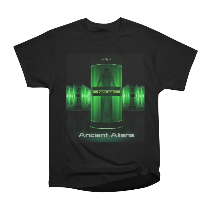Ancient Aliens Women's Heavyweight Unisex T-Shirt by automatonofficial's Artist Shop