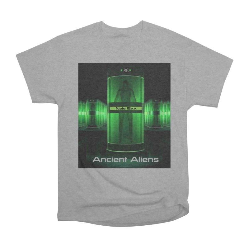 Ancient Aliens Women's Heavyweight Unisex T-Shirt by automatonofficial's Artist Shop