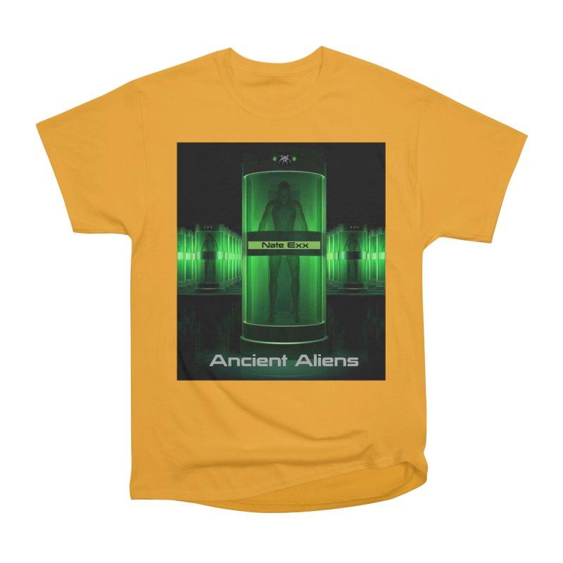 Ancient Aliens Men's Heavyweight T-Shirt by automatonofficial's Artist Shop