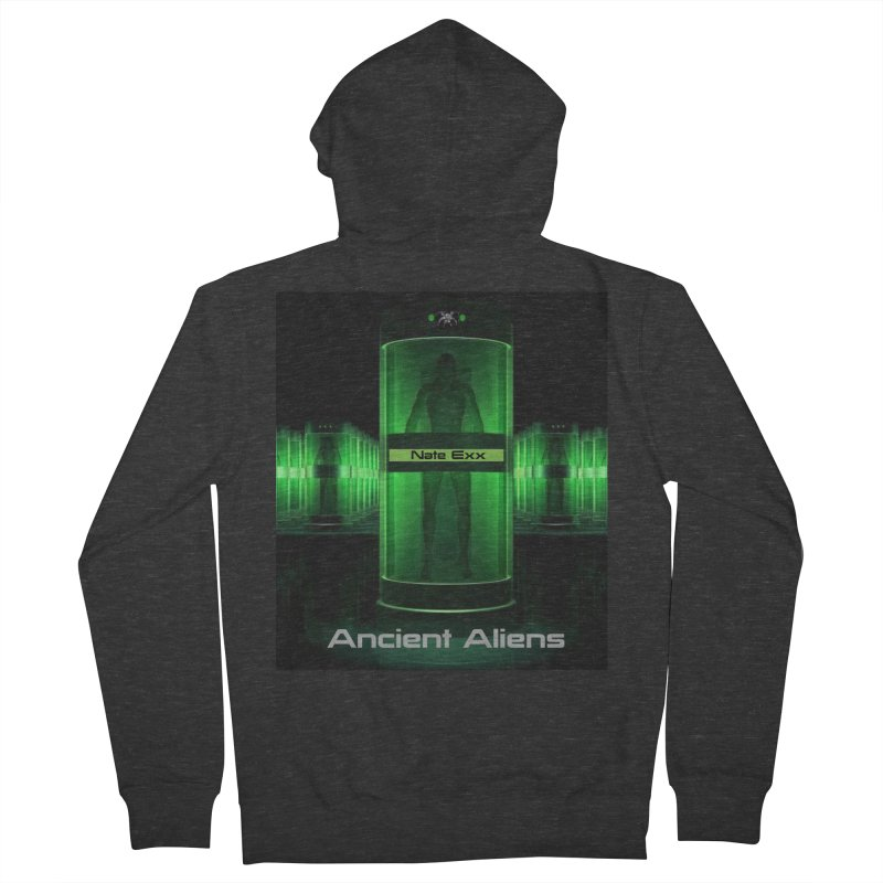Ancient Aliens Women's French Terry Zip-Up Hoody by automatonofficial's Artist Shop