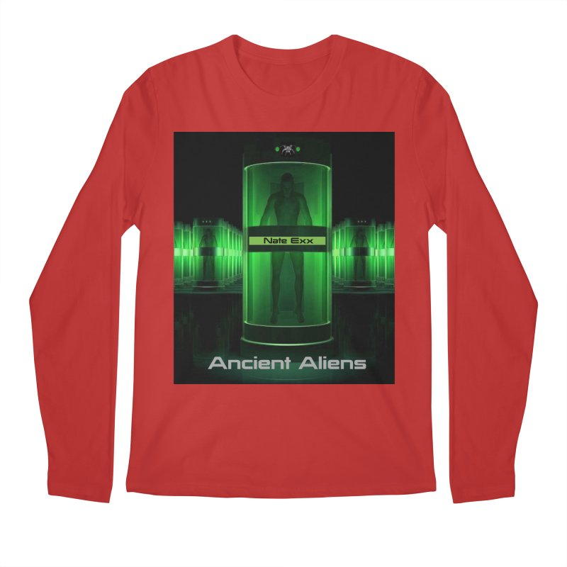 Ancient Aliens Men's Regular Longsleeve T-Shirt by automatonofficial's Artist Shop