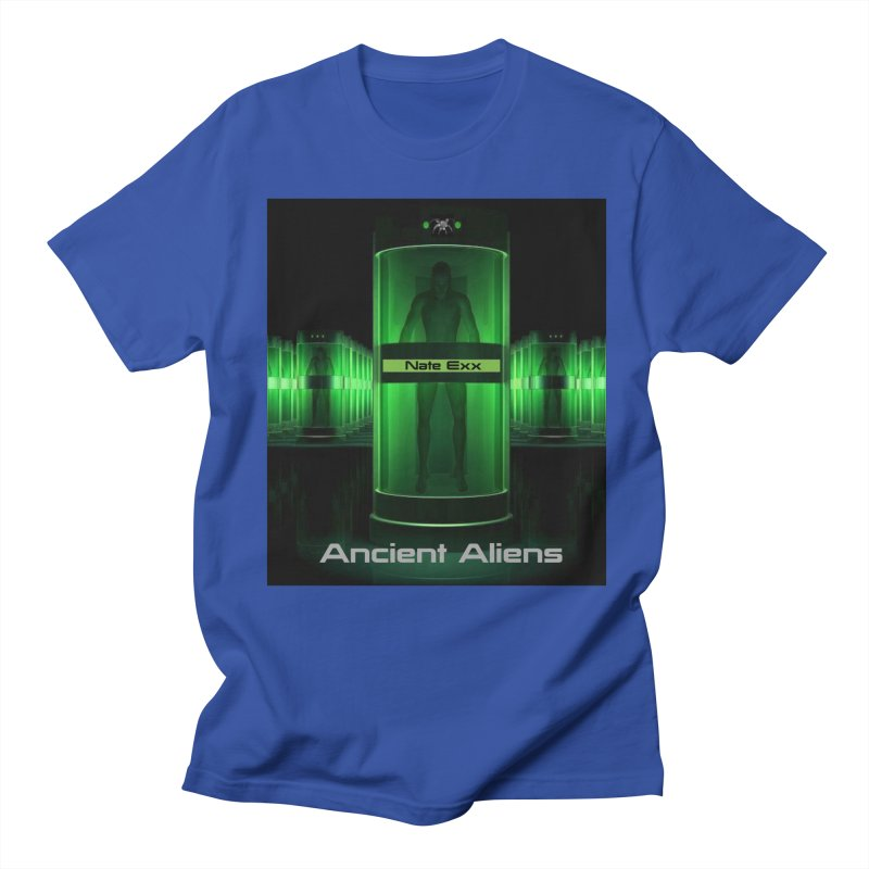 Ancient Aliens Men's Regular T-Shirt by automatonofficial's Artist Shop