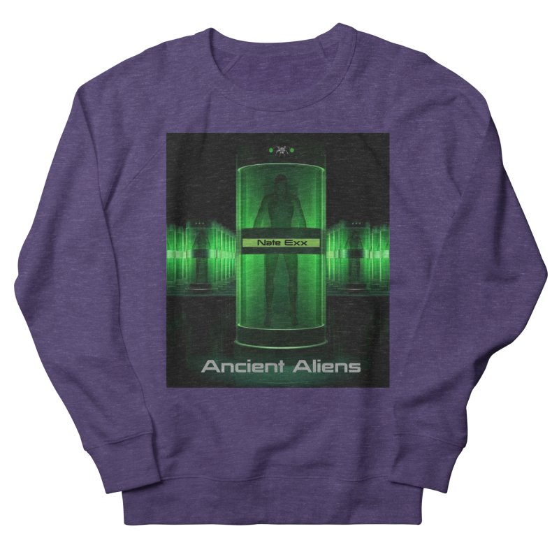 Ancient Aliens Men's French Terry Sweatshirt by automatonofficial's Artist Shop
