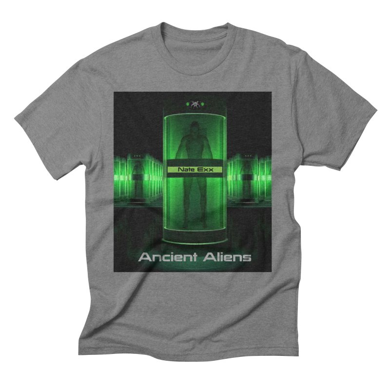 Ancient Aliens Men's Triblend T-Shirt by automatonofficial's Artist Shop