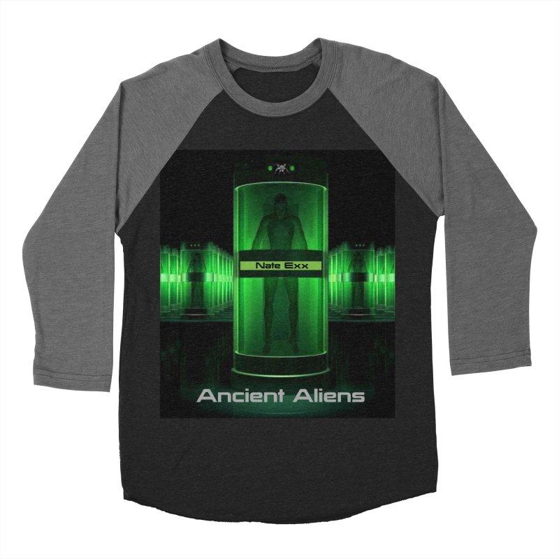 Ancient Aliens Women's Baseball Triblend Longsleeve T-Shirt by automatonofficial's Artist Shop
