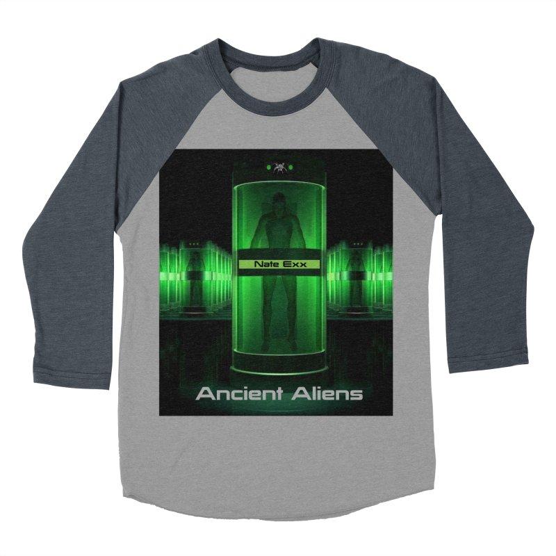 Ancient Aliens Men's Baseball Triblend Longsleeve T-Shirt by automatonofficial's Artist Shop