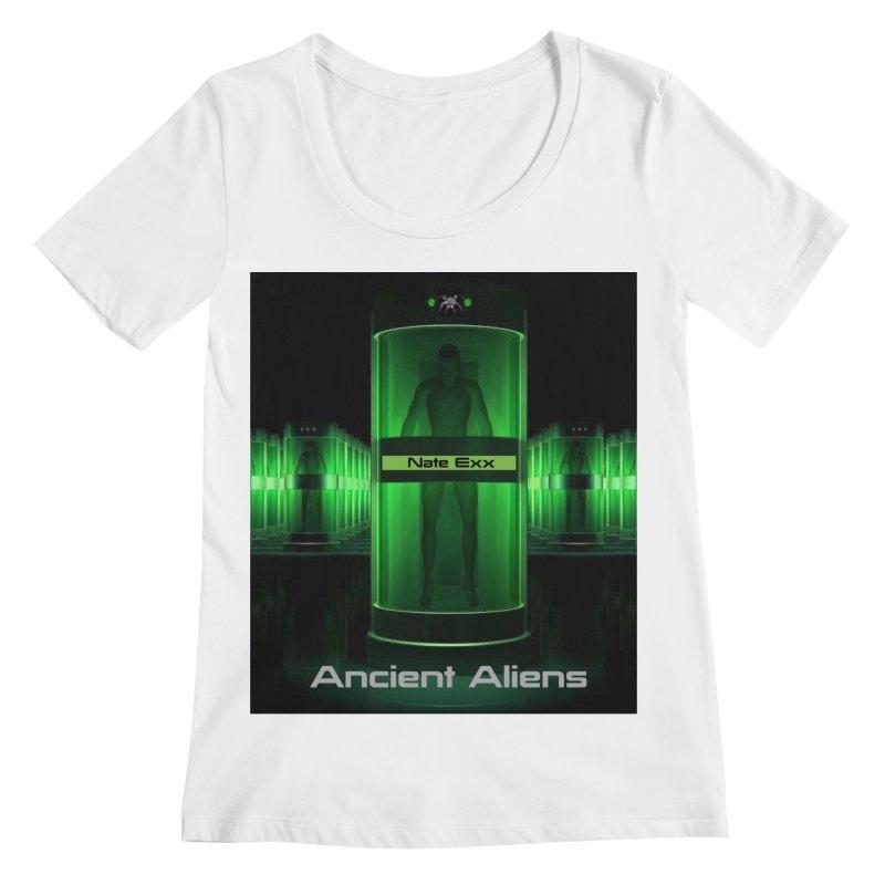 Ancient Aliens Women's Regular Scoop Neck by automatonofficial's Artist Shop