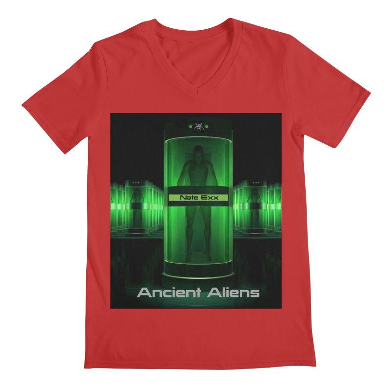 Ancient Aliens Men's Regular V-Neck by automatonofficial's Artist Shop