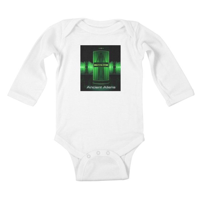Ancient Aliens Kids Baby Longsleeve Bodysuit by automatonofficial's Artist Shop