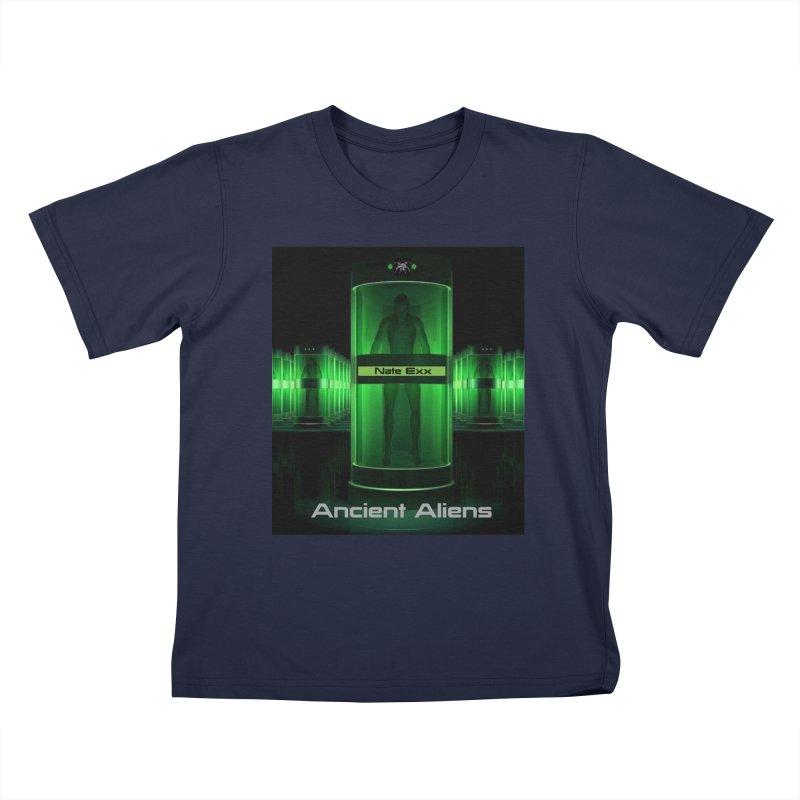 Ancient Aliens Kids T-Shirt by automatonofficial's Artist Shop