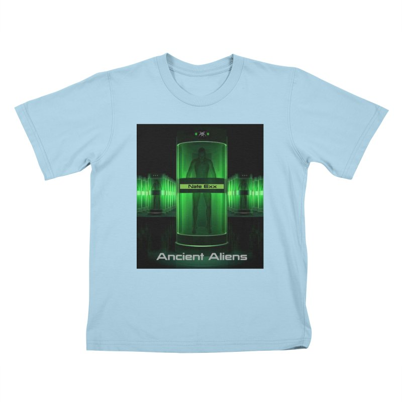 Ancient Aliens Kids T-Shirt by automatonofficial's Artist Shop