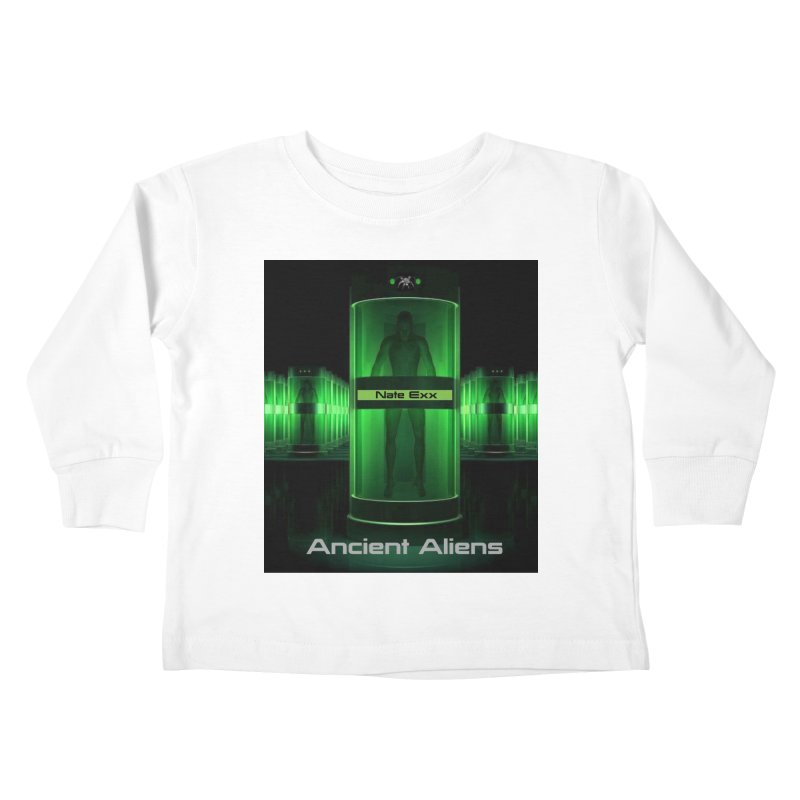 Ancient Aliens Kids Toddler Longsleeve T-Shirt by automatonofficial's Artist Shop
