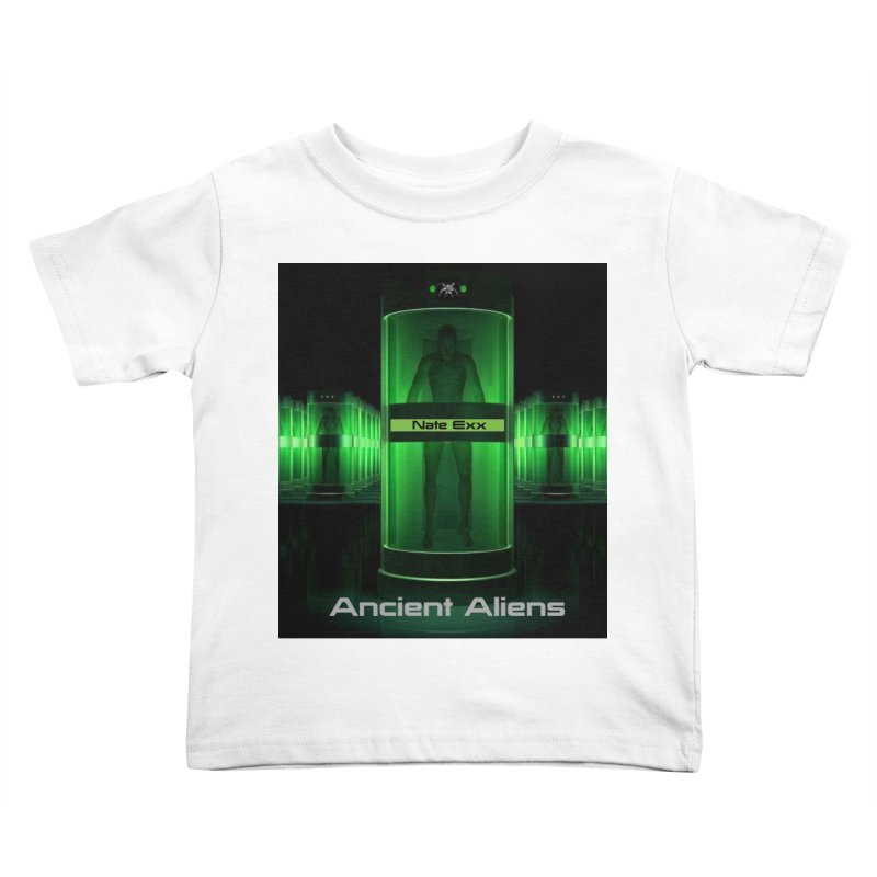 Ancient Aliens Kids Toddler T-Shirt by automatonofficial's Artist Shop