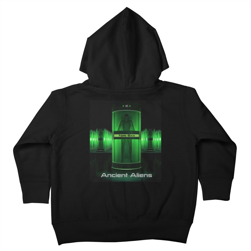 Ancient Aliens Kids Toddler Zip-Up Hoody by automatonofficial's Artist Shop