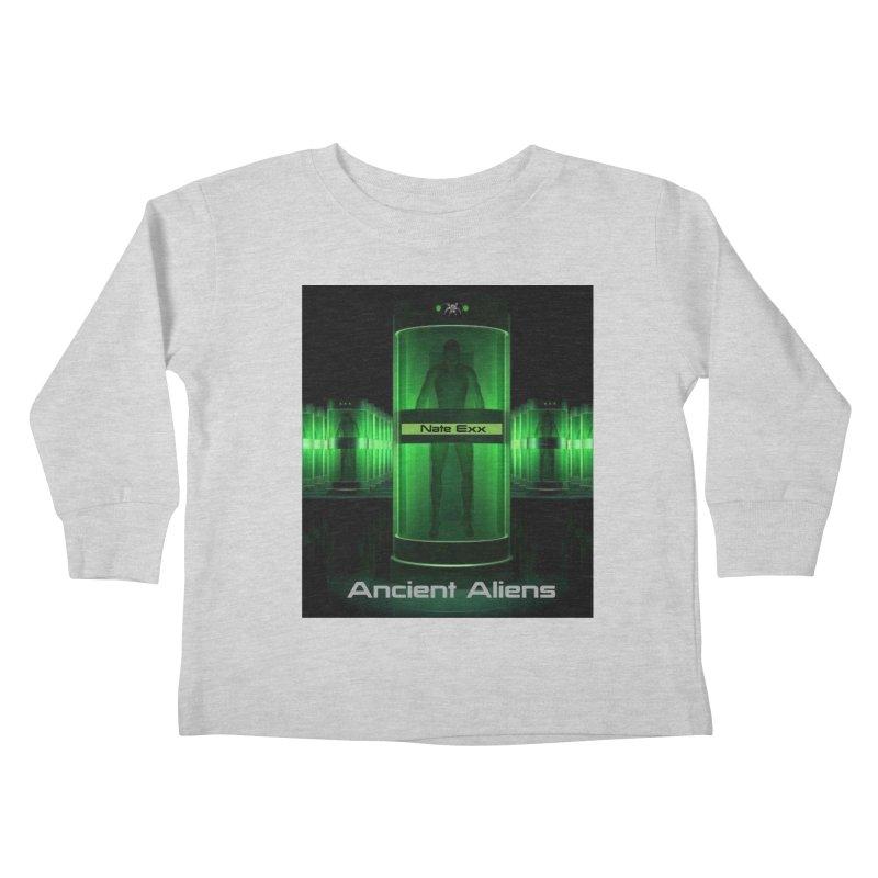 Ancient Aliens Kids Toddler Longsleeve T-Shirt by automatonofficial's Artist Shop