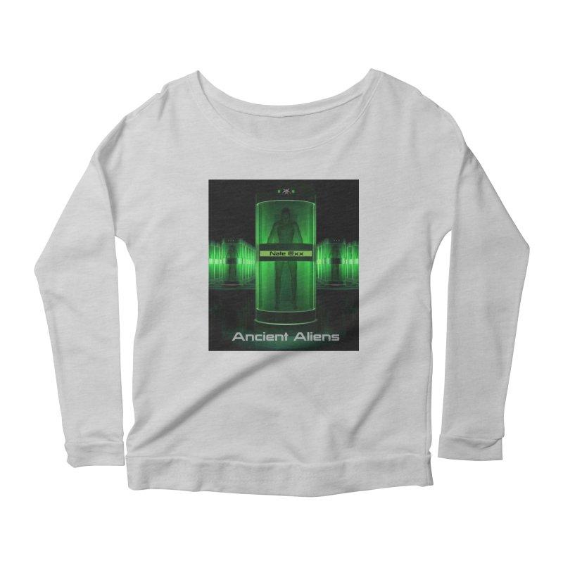 Ancient Aliens Women's Scoop Neck Longsleeve T-Shirt by automatonofficial's Artist Shop