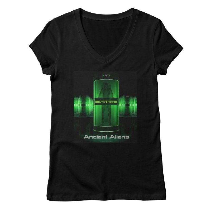 Ancient Aliens Women's Regular V-Neck by automatonofficial's Artist Shop