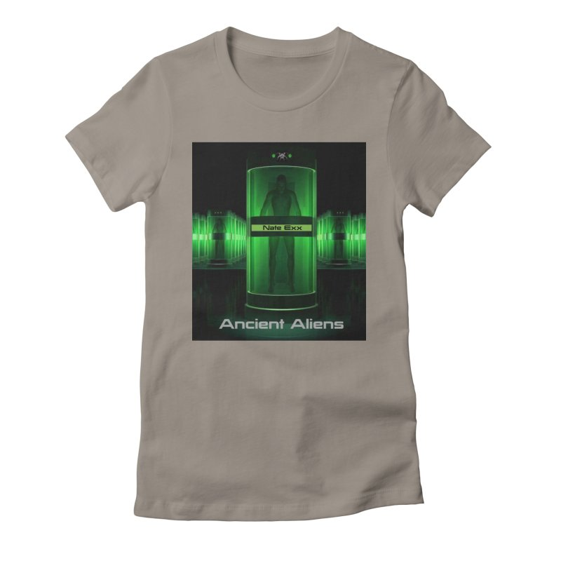 Ancient Aliens Women's Fitted T-Shirt by automatonofficial's Artist Shop