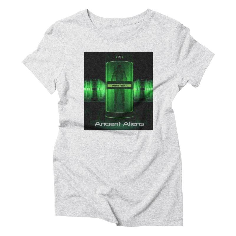 Ancient Aliens Women's Triblend T-Shirt by automatonofficial's Artist Shop