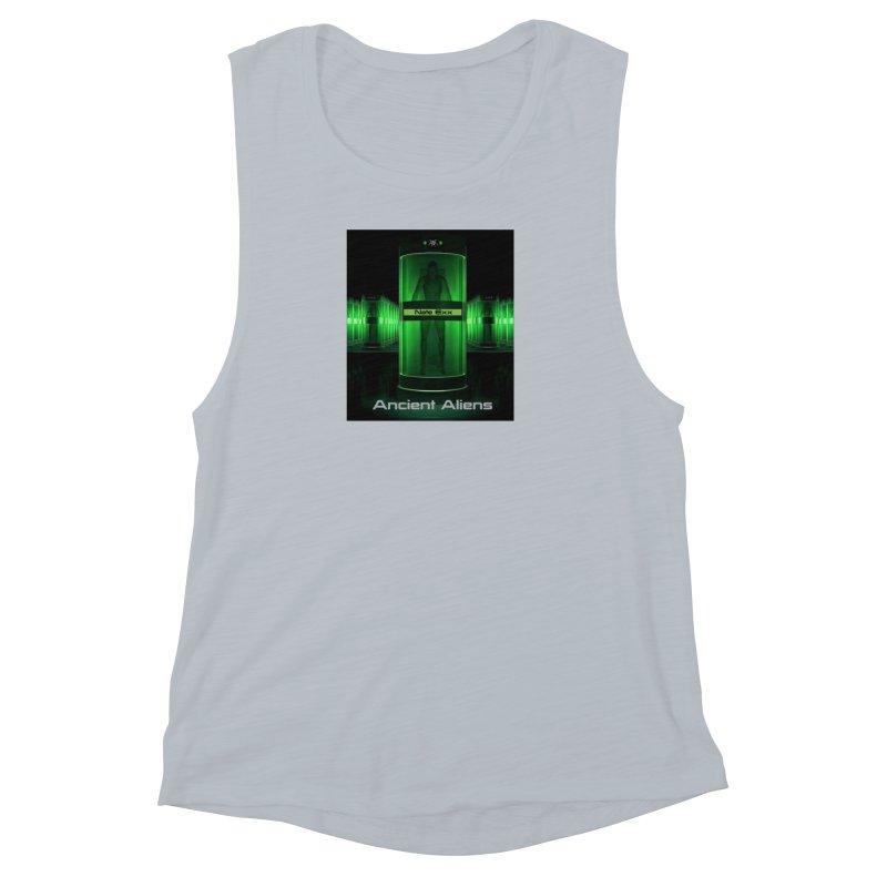 Ancient Aliens Women's Muscle Tank by automatonofficial's Artist Shop