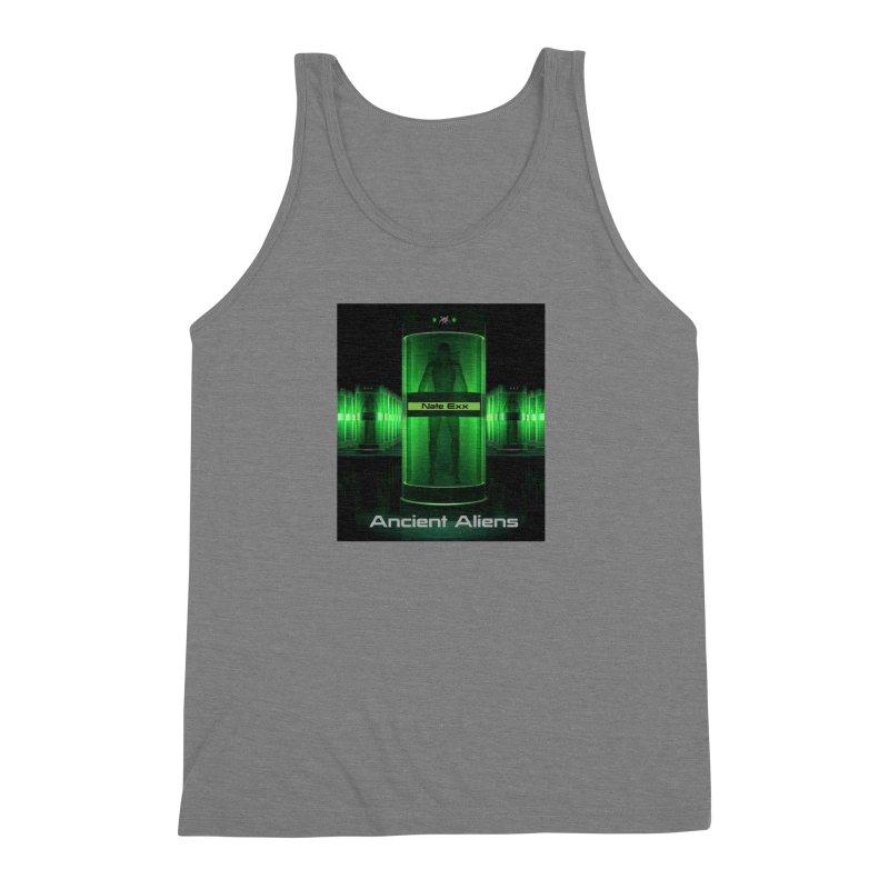 Ancient Aliens Men's Triblend Tank by automatonofficial's Artist Shop