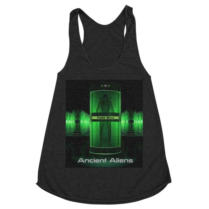 Ancient Aliens Women's Racerback Triblend Tank by automatonofficial's Artist Shop