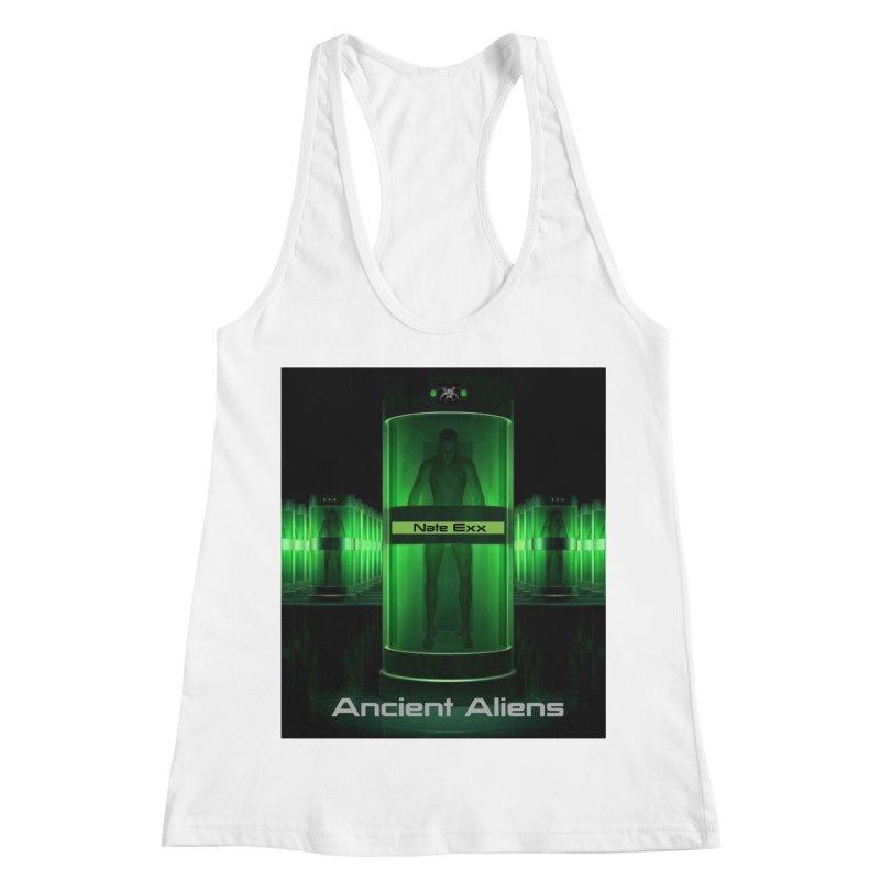 Ancient Aliens Women's Racerback Tank by automatonofficial's Artist Shop