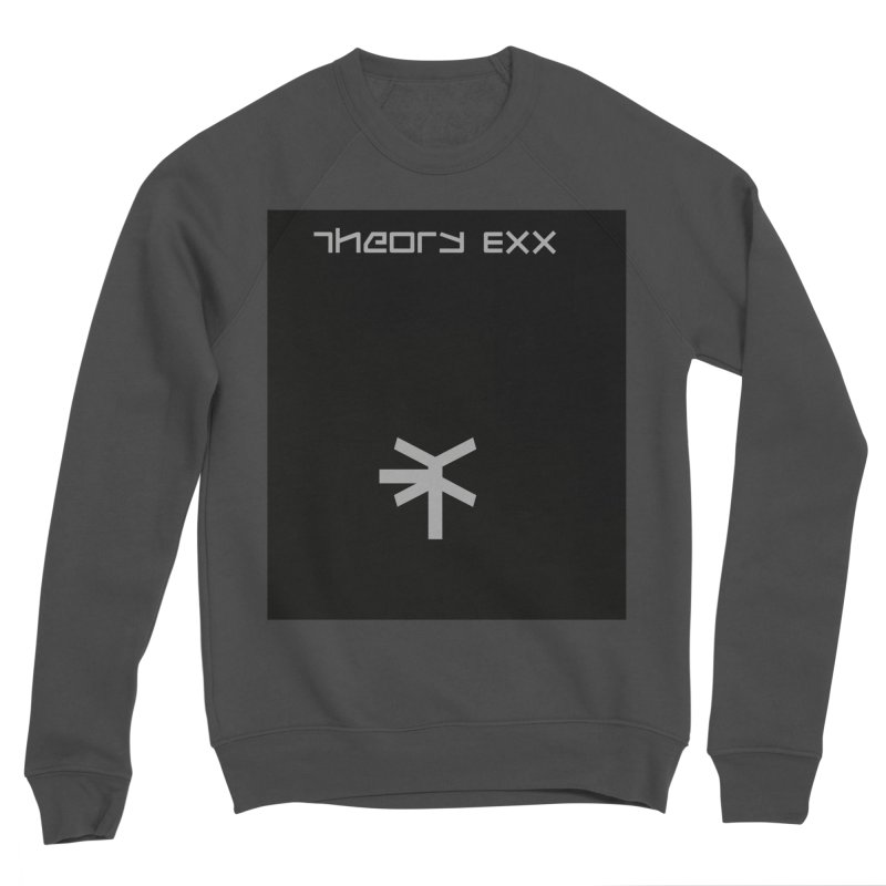 Theory Exx Logo Men's Sponge Fleece Sweatshirt by automatonofficial's Artist Shop