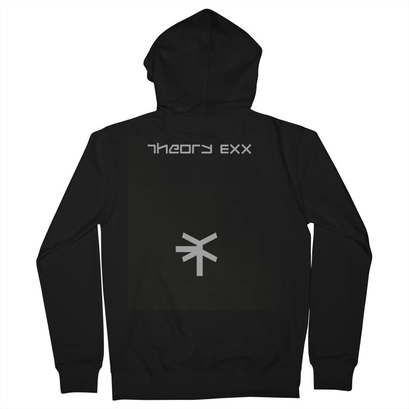 Theory Exx Logo Men's French Terry Zip-Up Hoody by automatonofficial's Artist Shop