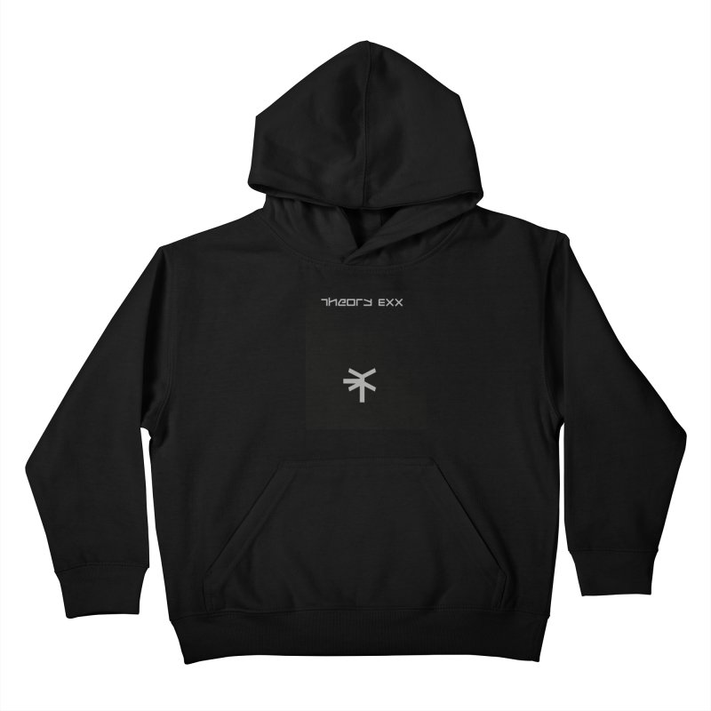 Theory Exx Logo Kids Pullover Hoody by automatonofficial's Artist Shop